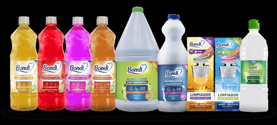 Productos de limpieza Bondi